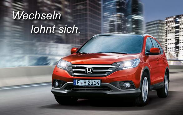 Honda CR-V. Wechseln lohnt sich.